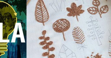 Learn to Embroider at Trade School Los Angeles