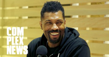 Deon Cole Takes a Sneaker Spa Day at ComplexCon 2019 With Old Spice