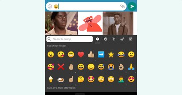 Gboard working on GIF and sticker suggestions for emoji