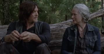 The Walking Dead's Carol Prods Daryl About His Love Life in This Exclusive Clip
