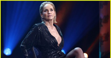 Sharon Stone Recreates 'Basic Instinct' Scene While Receiving Woman of the Year at GQ Men of the Year Awards 2019 (VIDEO)