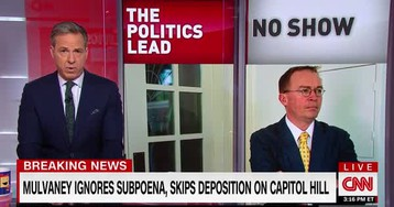 Mick Mulvaney Hides From The Truth, Skips Congressional Hearing