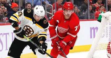 Bruce Cassidy Says Bruins Need To 'Find A Way' To Get Puck To Net After Loss