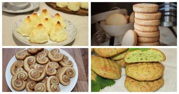 5 рецептов печенья, которое готовятся молниеносно