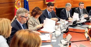 Sánchez preside la reunión del comité de coordinación sobre Cataluña ante las protestas convocadas por Tsunami