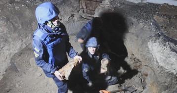 В Киеве возле Шулявского моста нашли склад боеприпасов Второй мировой