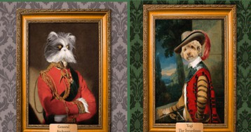 Turn Your Pet Into Royal Portrait With These Custom-Made Masterpieces