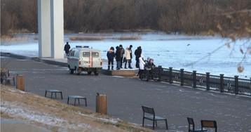 В Красноярске любовники упали с моста в Енисей
