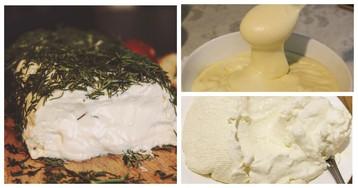 3 рецепта домашнего сыра