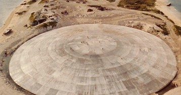 There's 22 million gallons of nuclear waste under a concrete dome on a Pacific Island, and it's sinking