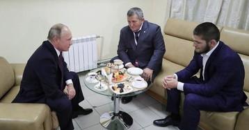 «Впечатление, что он очень устал от всей этой суеты». Хабиб – о встречах с Путиным