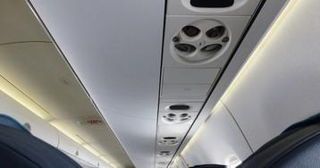 Ввентиляционных отверстиях салона самолёта больше бактерий, чем втуалете