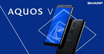 Sharp выпустила новый смартфон Sharp Aquos V