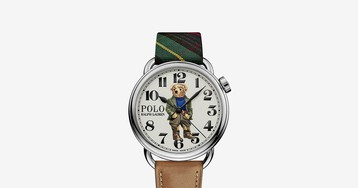 Ralph Lauren's New Polo Bear Watches Reference the Designer's Signature Style