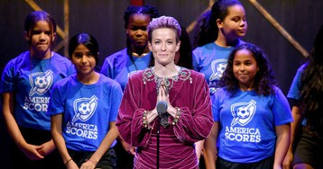 'We Have to Do More': Champion Ally Megan Rapinoe Thanked Kaepernick, Tarana Burke and Black Lives Matter in 'Woman of the Year' Speech