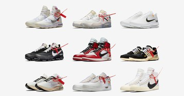 Ranking All of the Off-White x Nike Sneakers, From Worst to Best