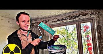 Сделал ремонт квартиры в Припяти что бы жить в Чернобыльской Зоне