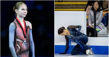 15-летняя Трусова обогнала Медведеву на этапе Гран-при в Москве