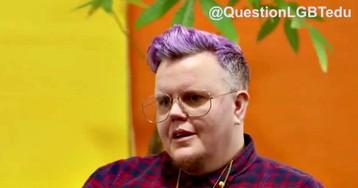 'Sex-Ed School': Trans 'Man' Teaches Children About Cross-Sex Hormones, Breast Removal