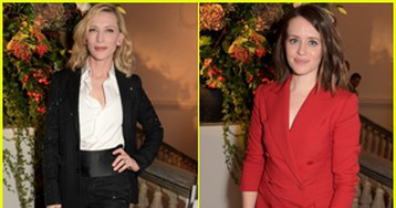 Cate Blanchett & Claire Foy Suit Up for 'Very Ralph' Premiere in London