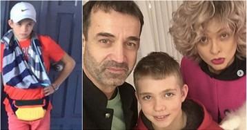 12-летний сын Певцова в ярости сломал руку об стену