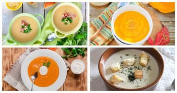 5 вкусных крем-супов, которые согреют в ненастный день