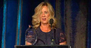 Christine Blasey Ford gets ACLU 'courage' award, complains of 'well-financed attack machine' out to get her 'anytime I raise my head'