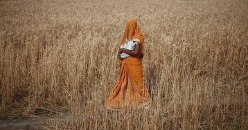 Poorly nourished pregnant women are also badly overworked in rural India