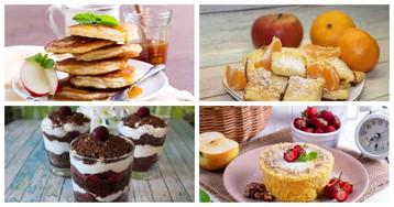 5 рецептов очень быстрых десертов