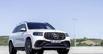 2021 Mercedes-AMG GLS 63 SUV is 603hp seating for seven