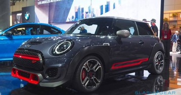 MINI John Cooper Works GP is a two-seater hot hatch that shouts its 306 HP