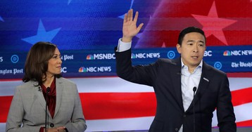 Yang Gang rages against MSNBC, accusing network of repeatedly suppressing candidate