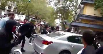 Bouncer with 'Antifa' stun gun arrested for allegedly smashing car with metal baton when violent leftists ran wild in Portland streets last year