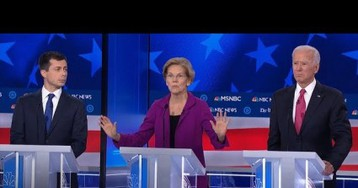 At The Democratic Debate, Women And Children First