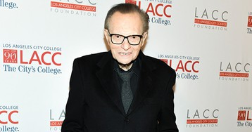 Larry King Says He Had a 'Slight Stroke' Earlier This Year