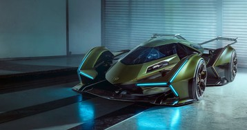New Gran Turismo x Lamborghini Collab Looks Like A Batmobile From 2076