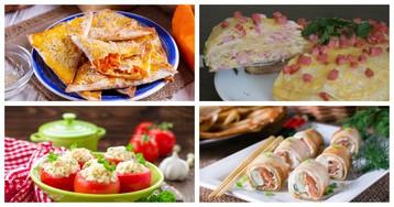 5 домашних закусок с сыром для любого повода