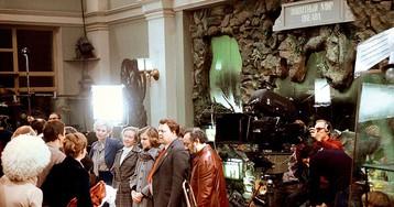На съемках фильма «Гараж», 1979 год, Ленинград