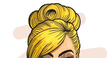 Анекдот про очень везучую блондинку вказино