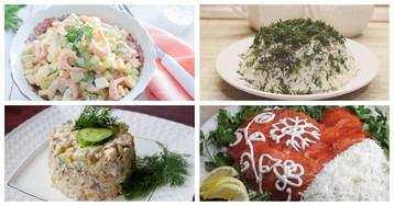 5 рецептов салатов для любителей рыбы и морепродуктов