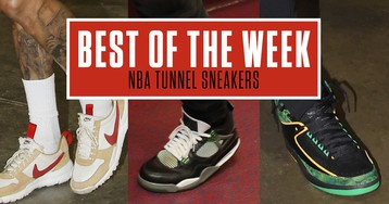 Best Sneakers in the NBA Tunnel This Week