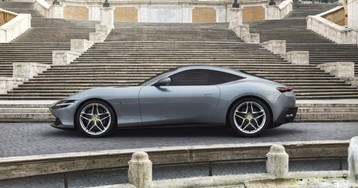The Ferrari Roma Grand Touring Coupe Sculpts Speed