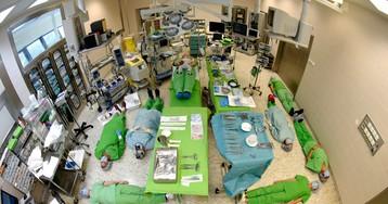 Операционная центра детской кардиологии. Венгрия