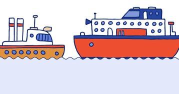 Анекдот про встречу русского иамериканского кораблей