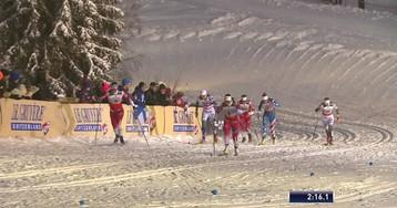 Финиш первой гонки сезона, который суперуспешно начался для Фаллы