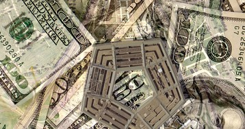 """Defense contractors gleefully report record earnings in divisions that bid on """"classified"""" projects, the fastest-growing part of the Pentagon's budget"""