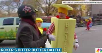 Al Roker Battles Butter Man During Macy's Thanksgiving Day Parade
