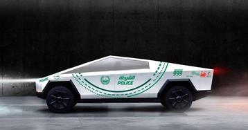 Полиция Дубая заказала партию Tesla Cybertruck