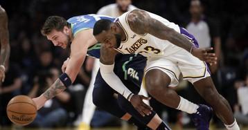 Doncic y sus Mavericks dan un golpe de autoridad ante los Lakers de Lebron