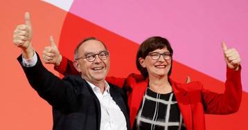 La tensión entre los partidos del Gobierno alemán crece tras la elección de nuevos líderes en el SPD